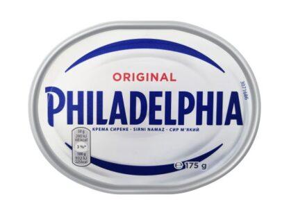 Крем-сир PHILADELPHIA ORIGINAL 0.175 кг, пак