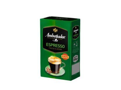 Кава Ambassador мелена Espressо в/у 0.225 кг, пак