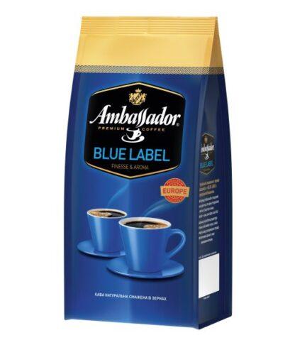 Кава Ambassador в зернах Blue Label 0.250 кг, пак