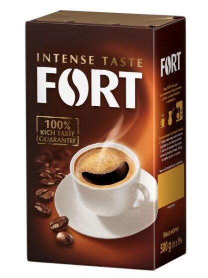 Кава Fort мелена 0.500 кг, пак