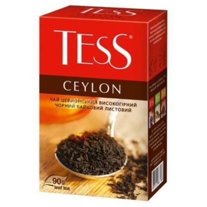 Чай TESS чорний Ceylon 0.090 кг, пак
