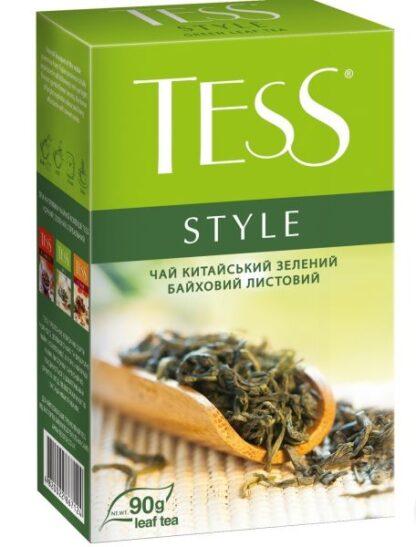 Чай TESS зелений Style 0.090 кг, пак