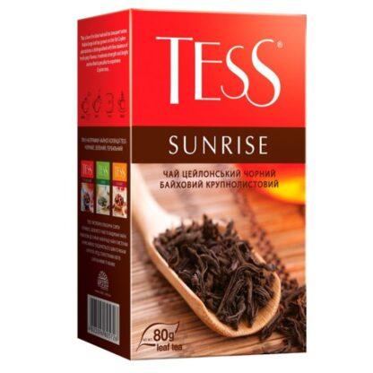 Чай TESS чорний Sunrise 0.080 кг, пак