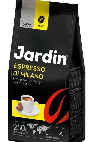 Кава JARDIN Espresso di Milano смаж в зернах 0.250 кг, пак