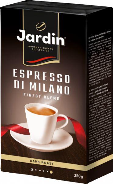 Кава JARDIN Espresso di Milano мелена в/у 0.250 кг, пак
