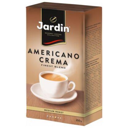 Кава JARDIN Americano Crema мелена в/у 0.250 кг, пак