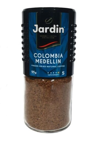 Кава JARDIN Colombia Medellin с/б 0.095 кг, пак