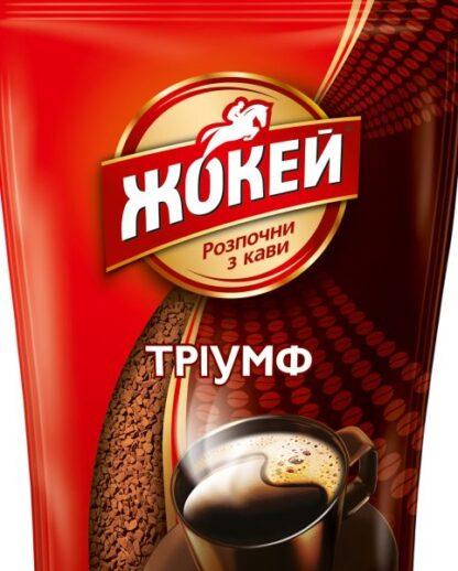 Кава ЖОКЕЙ Тріумф сублім.розчинна 0.400 кг, пак