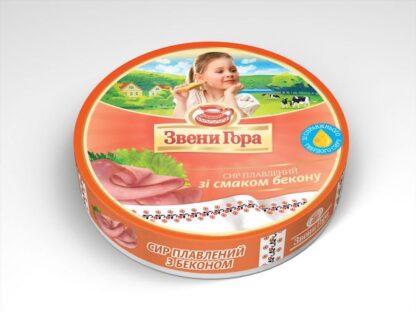 Сир плавлений порційний Звени Гора Бекон 0.140 кг, пак