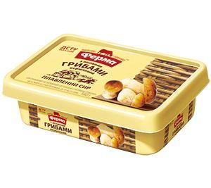 Сир плавлений пастоподібний ФЕРМА Вершковий з лісов. гриб. 60% пластик. короб 0.180 кг, пак