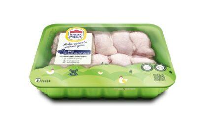 Куряче м'ясо стегна НАША РЯБА СЕС 1 кг, кг