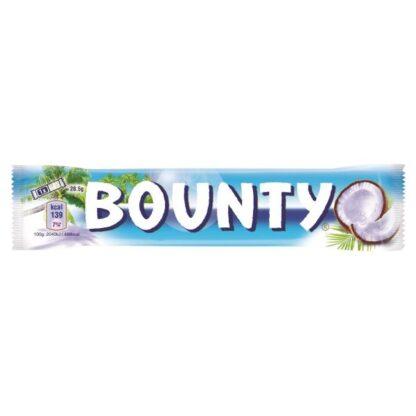 Батончик Bounty в молочно-шоколадній глазурі з кокосовою начинкою 0.057 кг, пак