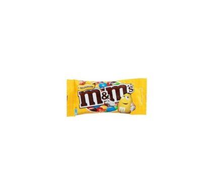 Драже M&M's з арахісом та молочним шоколадом 0.045 кг, пак