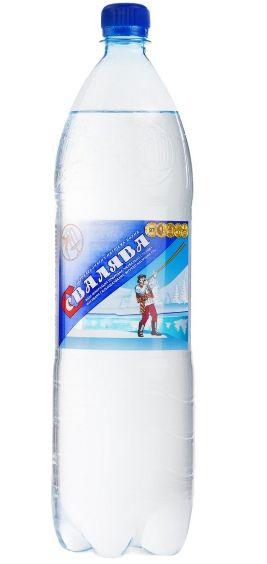 Вода мінеральна Свалява сильногазована лікувально-столова ПЕТ 1.500 л., пак