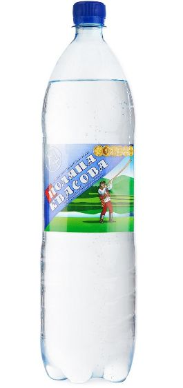 Вода мінеральна Поляна Квасова сильногазована лікувально-столова ПЕТ 1.500 л., пак