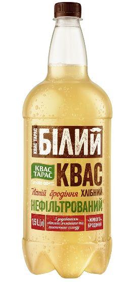 Квас Квас Тарас хлібний білий сильногазований ПЕТ 1.500 л., пак