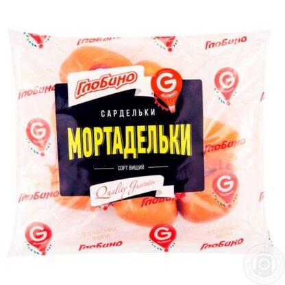 Сардельки ГЛОБИНО Мортадельки в/с 0.500 кг, кг