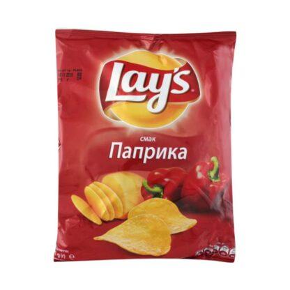 Чипси Lay's зі смаком паприки 0.133 кг, пак