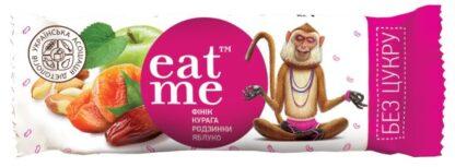 Батончик EAT ME курага-фінік-яблуко-родзинки у вафельці 0.030 кг, пак