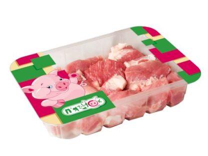 Свинина для піджарки П'ЯТАЧОК н/ф охолодж. лоток 0.800 кг, кг