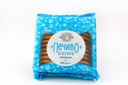 Печиво Богуславна Вівсяне Класичне 0.400 кг, пак