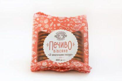 Печиво Богуславна Вівсяне зі шматочками глазурі 0.400 кг, пак
