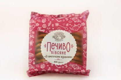 Печиво Богуславна Вівсяне зі шматочками журавлини 0.400 кг, пак