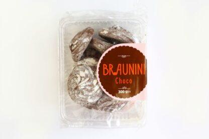 Печиво Богуславна Брауніні зі смаком шоколаду в цукровій пудрі 0.300 кг, пак