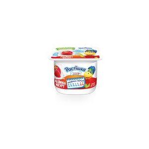 Йогурт DANONE РАСТІШКА малина 2% 0.115 кг, пак