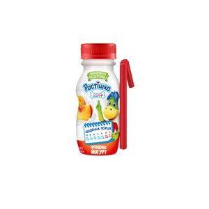 Йогурт DANONE РАСТІШКА персик-абрикос 1,5% 0.185 кг, пак