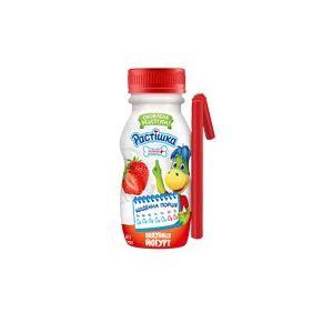 Йогурт DANONE РАСТІШКА полуниця 1,5% 0.185 кг, пак