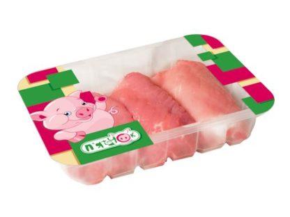 Свинне м'ясо-гриль П'ЯТАЧОК з тазостегнової частини охолодж. лоток 0.700 кг, кг