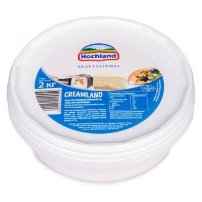 Крем-сир Hochland Professional вершковий Creamland 2.000 кг, пак